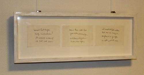 Gedichtenwand Oogheelkunde Maasstad Ziekenhuis Rotterdam